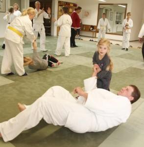 Aikido Nathalie und Papa