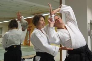 Aikido Ulli und Bernhard