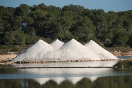 Mallorca Salzproduktion