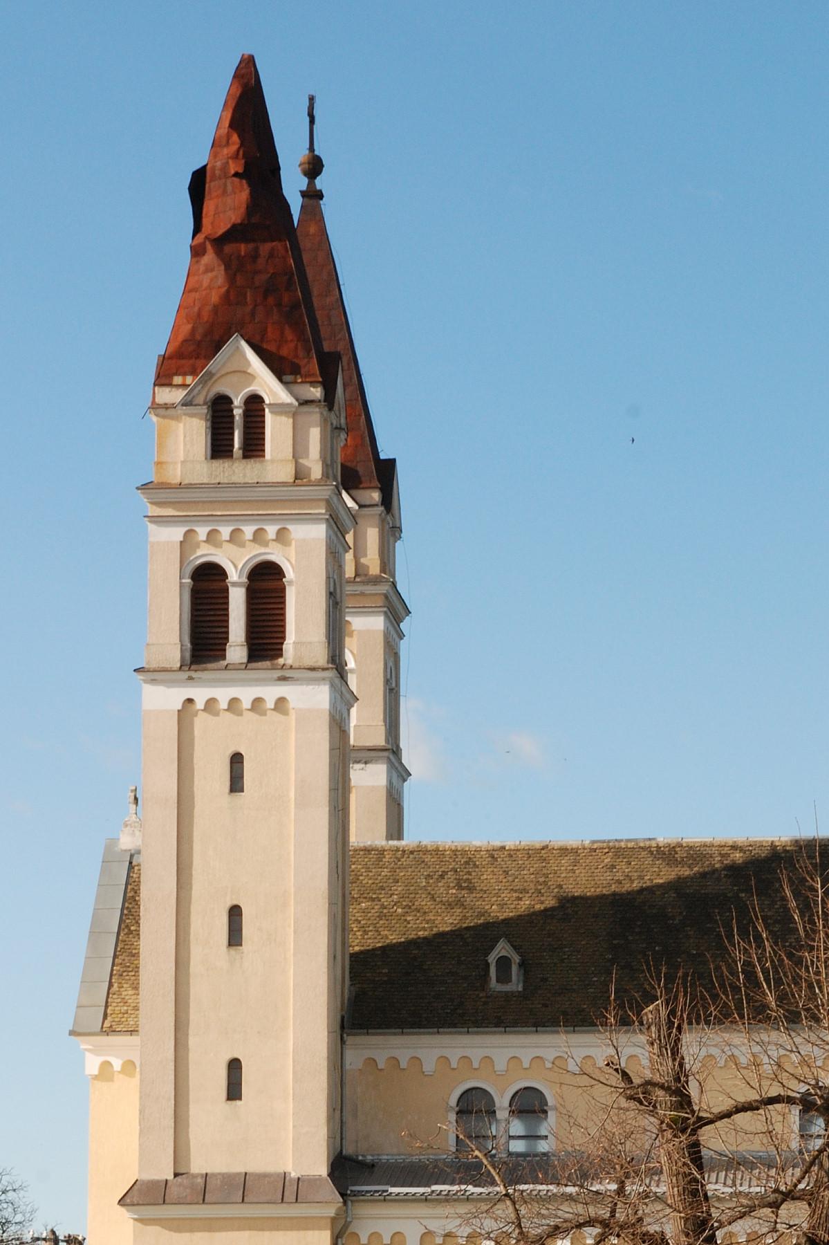 Schaden am Turm - Anfang April 2015