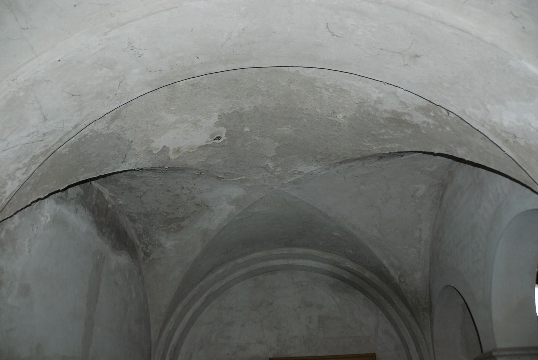 Wasserschäden im Gewölbe