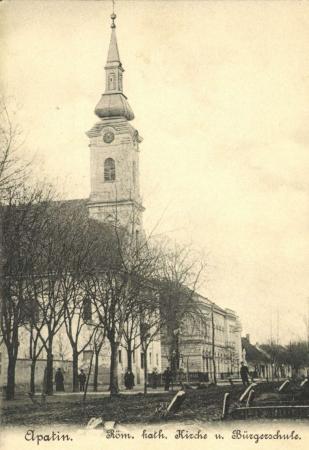 Maria Himmelfahrt Kirche Apatin - eingeweiht 1798